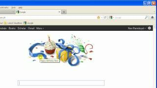 B-day Google Suprise