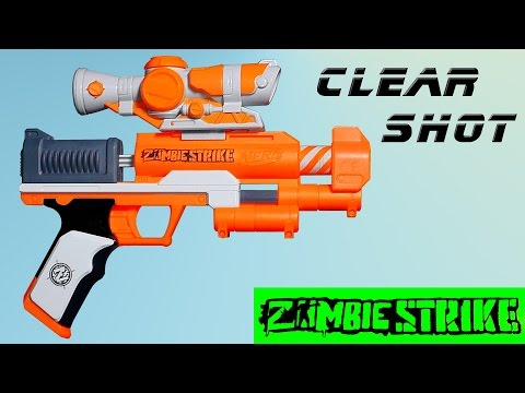 Nerf Zombie Strike Clear Shot  Magicbiber deutsch