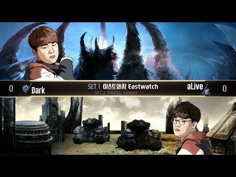 [TW] StarCraft2 - Dark vs aLive - 2018 AfreecaTV GSL Super Tournament I - Ro.16