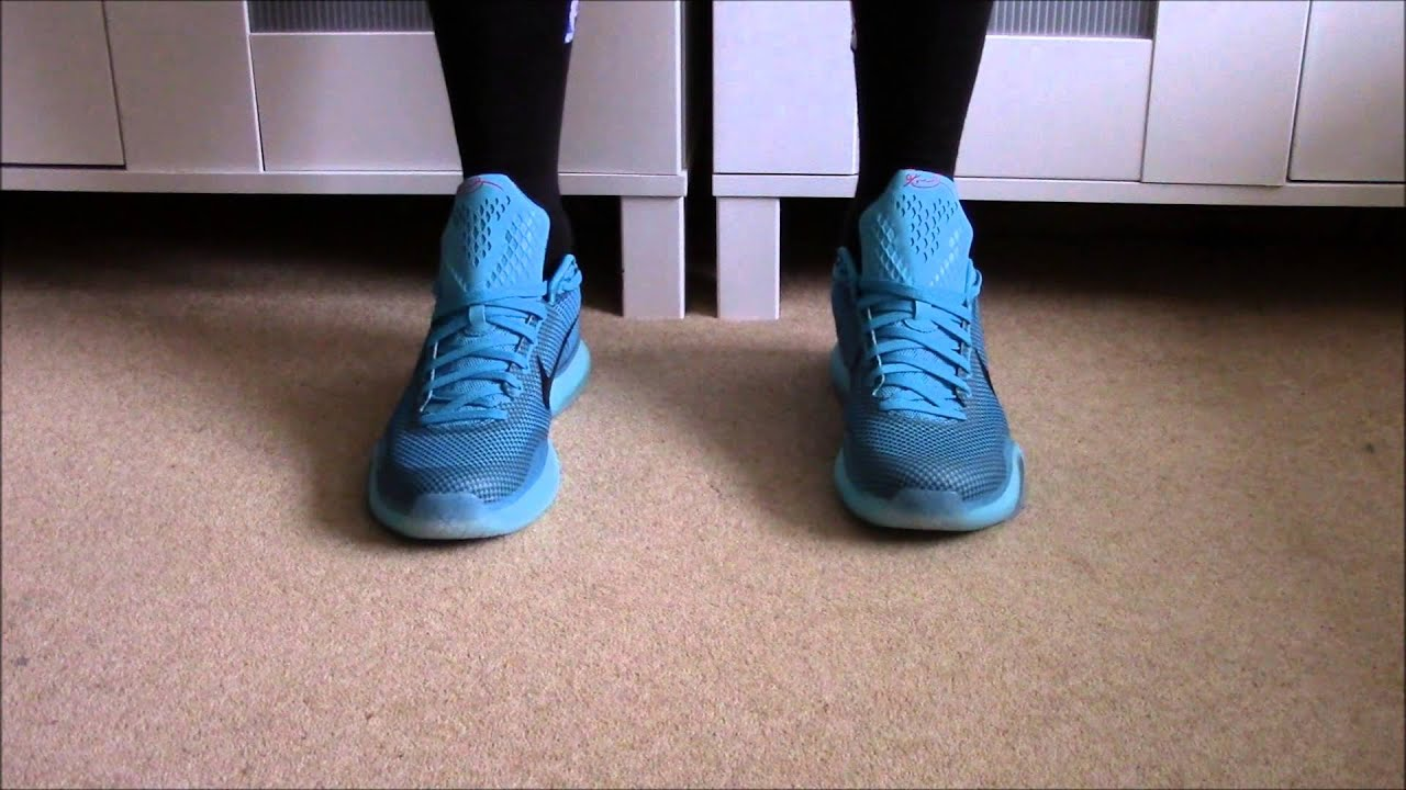 7d356a3a0f8 Nike Kobe X (10) On Feet - YouTube