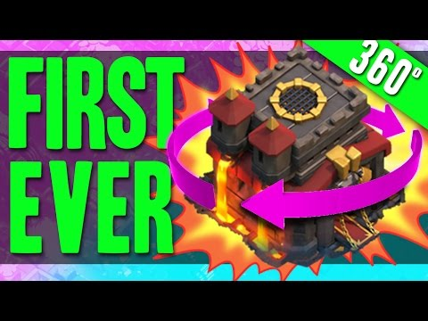 Clash of Clans :: CLASH OF CLANS FIRST!!! 360 DEGREE CAMERA RAID!!!