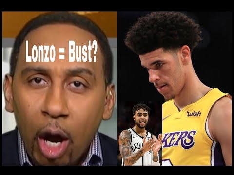 Is Lonzo Ball a Bust or just needs more time? Stephen A. Smith getting worried.