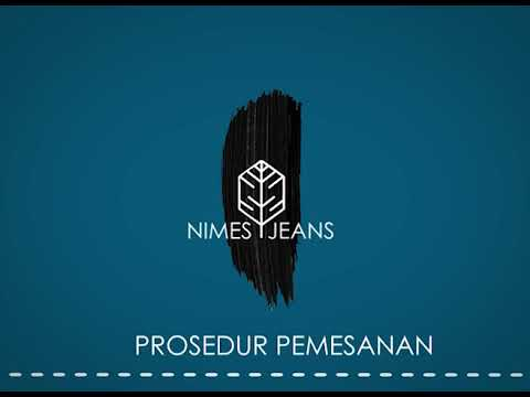 Motion graphic nimes jeans by NDAZMU ARTWORK