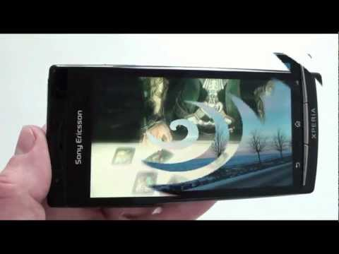 Sony Ericsson Xperia arc - видео обзор Xperia arc от Video-shoper.ru