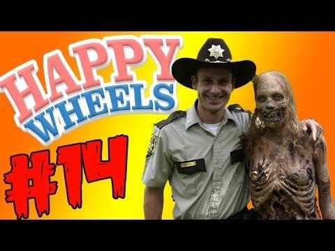 Флеш игра Happy Wheels онлайн. Бесплатно полная версия