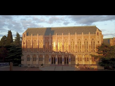 A day at University of Washington in Seattle | DJI Mavic Pro drone footage