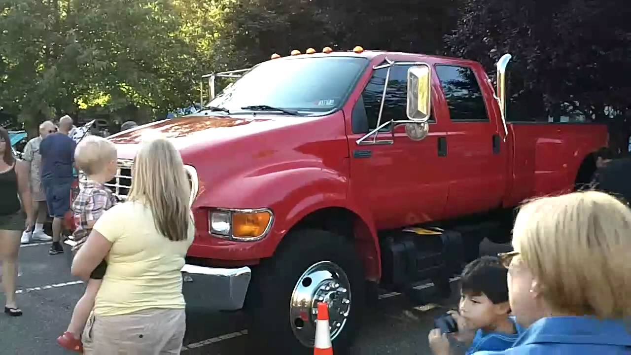 FORD F650 PICKUP TRUCK WALKAROUND - YouTube
