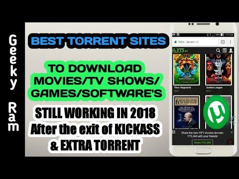 top ten torrented sites 2018
