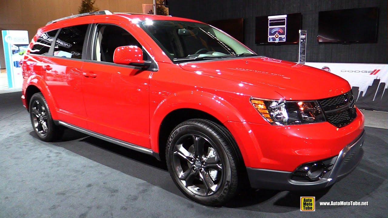2016 Dodge Journey Crossroad Exterior and Interior Walkaround