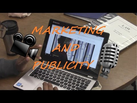MARKETING AND PUBLICITY