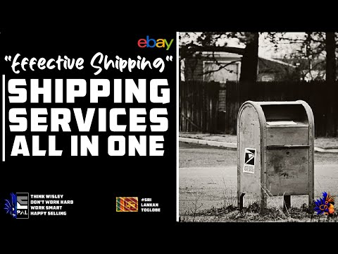 ebay Shipping Services - All in One - Effective Shipping