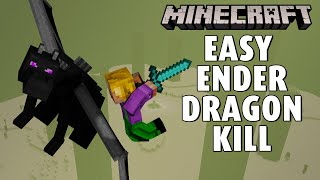 Expertly killing the Ender Dragon in Minecraft 1.17 ⛏