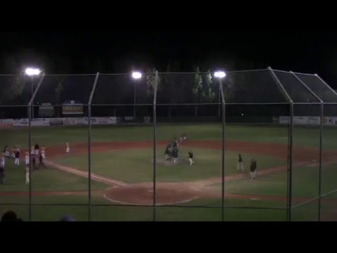 Swift Current 57's in Moose Jaw game 3 of 2017 WMBL Eastern Semifinal