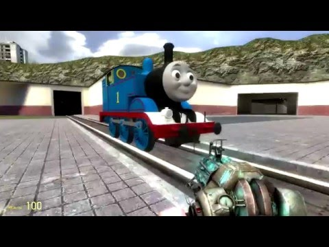 Thomas the tank engine minecraft style!