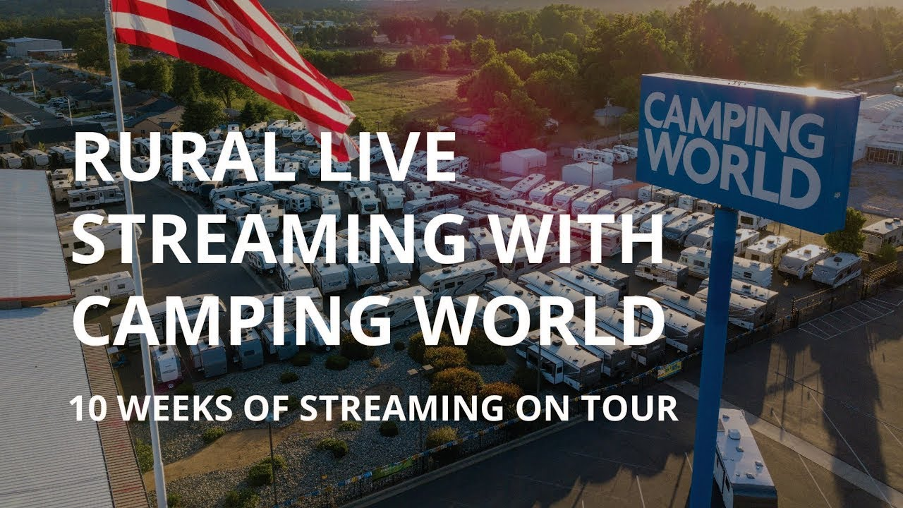 Rural Live Streaming on Tour with Camping World
