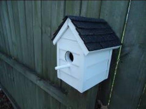 Vinyl Sided Bird House - DIY