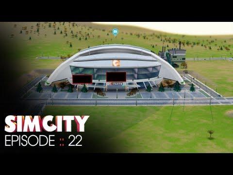 SimCity :: Episode 22 :: Stadium Plopped!