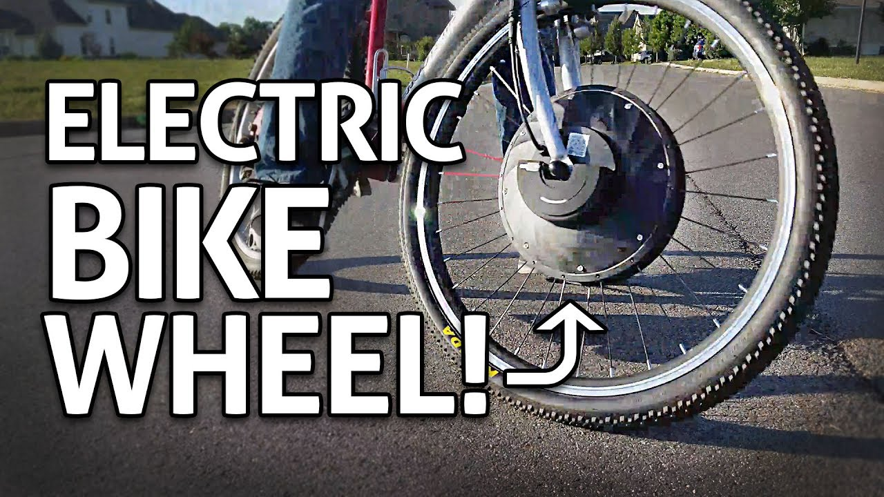 Easy Cheap Ebike Motorized Wheel Conversion Kit Review