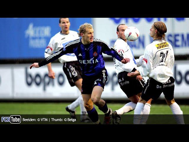 2004-2005 - Beker Van België - 01. 16de Finale - Eendracht Aalst - Club Brugge 0-3
