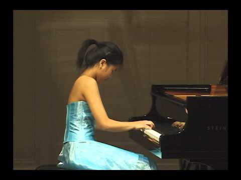 Beethoven sonata in E major, op. 109 : Kate Liu, piano
