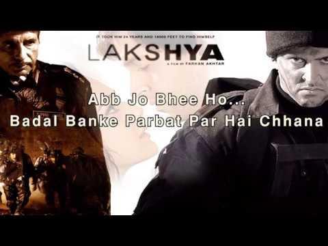 Kandhon Se Milte Hain Kandhe - Lakshya (Lyrics Video)