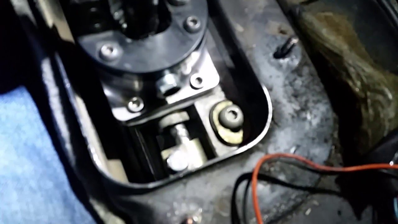 how to fix automatic shifter