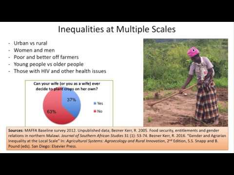 Farmer-led research on agroecology and nutrition in Malawi and Tanzania