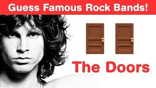 Can You Guess the Rock Bands from Emoji - The Doors Challenge