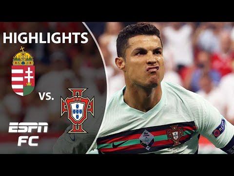 Cristiano Ronaldo scores TWICE as Portugal beats Hungary at Euro 2020 | Highlights | ESPN FC