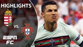 Cristiano Ronaldo scores TWICE as Portugal beats Hungary at Euro 2020   Highlights   ESPN FC
