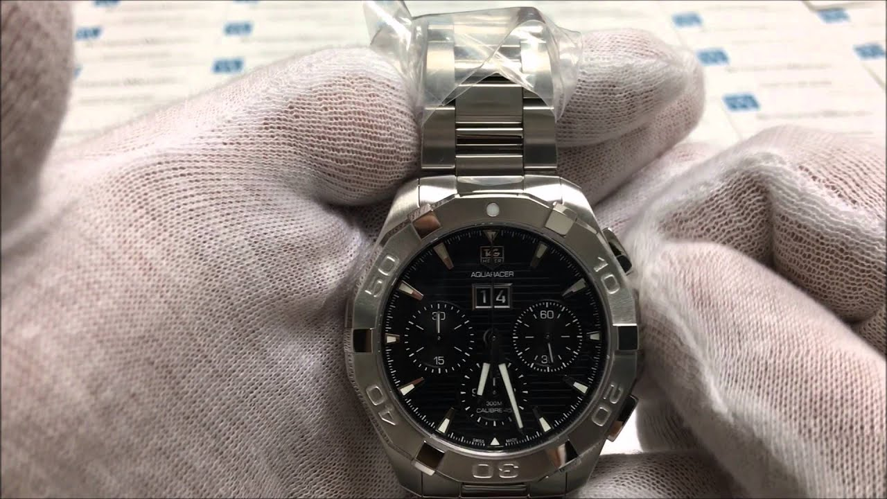 e778452bbb0 Instruction on how to use the TAG Heuer Aquaracer Automatic ...