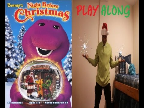 Barney's Night Before Christmas Play Along - YouTube