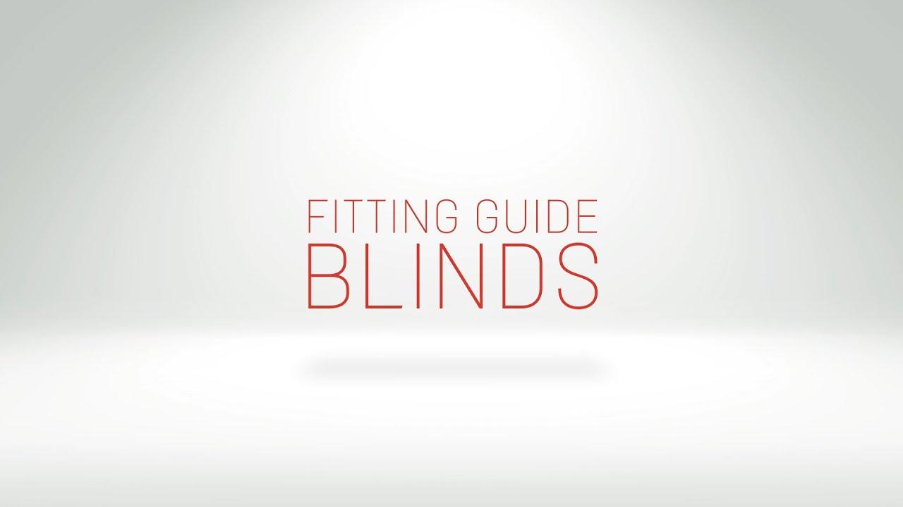 blind fitting guide youtube. Black Bedroom Furniture Sets. Home Design Ideas