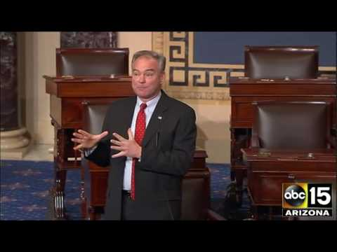 FULL: Sen. Tim Kaine urges NO vote on Judge Neil Gorsuch for Supreme Court