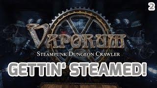 VAPORUM – New Legend Of Grimrock? Steampunk Dungeon Crawler Part #2