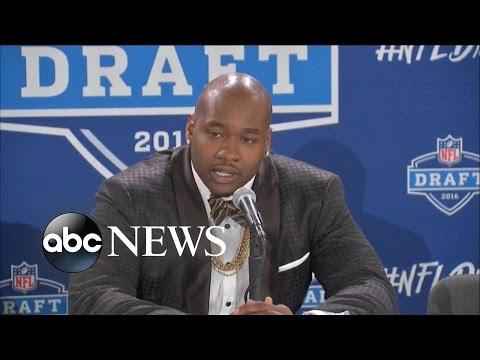 Football Star Drops in NFL Draft After Social Media Scandal