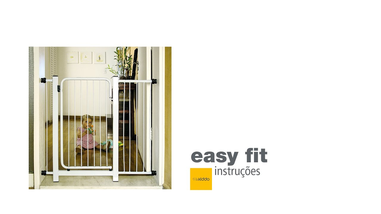 445c4a3f7 grade de porta easy fit 201 - YouTube
