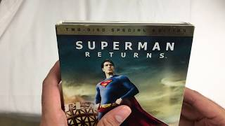 Superman Returns 2 Disc Special Edition Unboxing