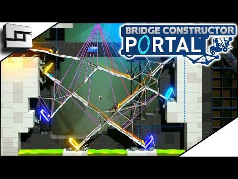 Super Complicated Bridge Deal! BRIDGE CONSTRUCTOR PORTAL! Level 52,53,54,55