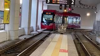 万葉線MLRV1000型(第2編成)高岡駅発車