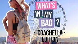 WHAT'S IN MY BAG - SURVIVRE À COACHELLA