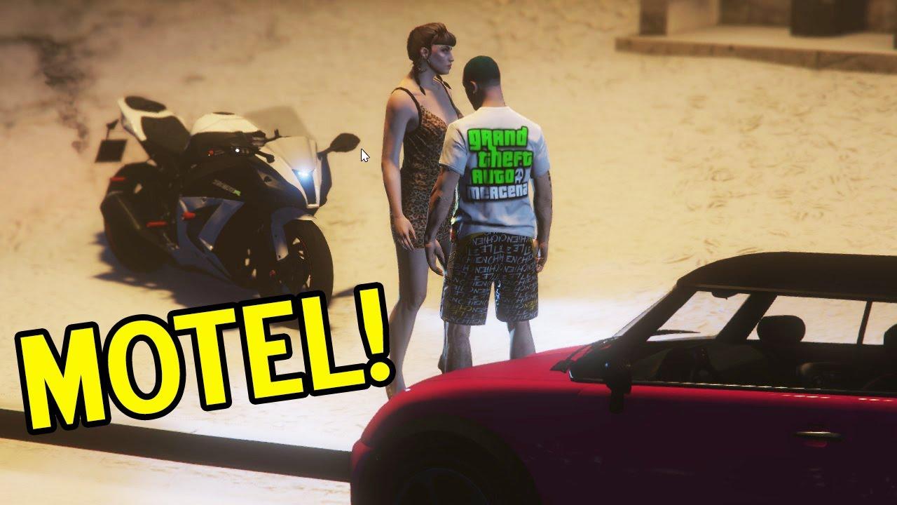 No motel com a namorada