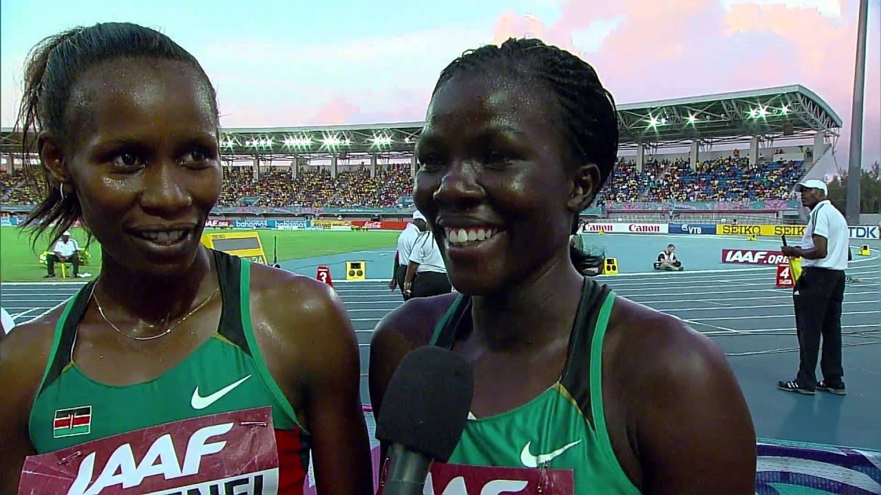 IAAF World Relays Bahamas 2014 - Mixed Zone 8 Laps Race ...