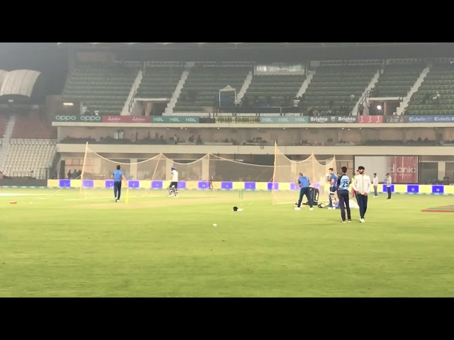 Moeen Ali and Afridi enjoying cricket in Multan stadium after 12 years