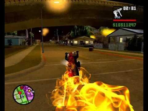 GTA San Andreas -Mod El  Vengador Fantasma