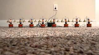 1991 Mr Christmas Santa's Marching Band