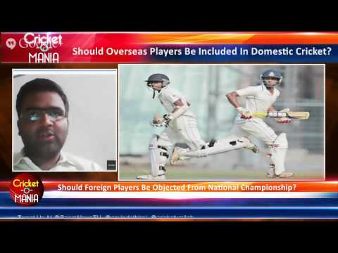 Should Overseas Players Be Included In Indian Domestic Cricket? #CricketOMania || Boom Live