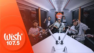 Mayonnaise performs Sniper Training LIVE on Wish 107.5 Bus