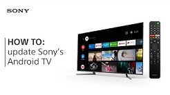 HOW TO: update Sony's Android TV