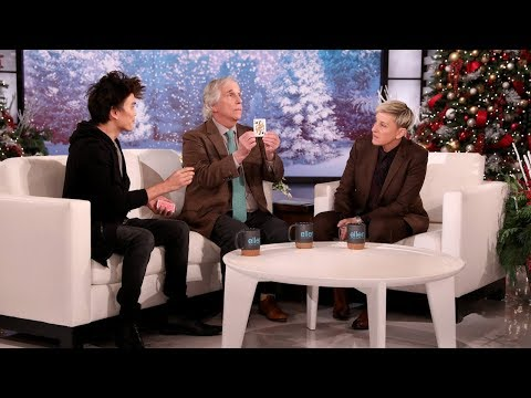 Shin Lim Wows Henry Winkler And Ellen: Extended Cut
